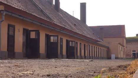 Verhörräume-Im-NS-Konzentrationslager-Theresienstadt-In-Tschechien-1