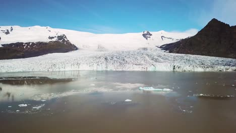 Slow-aerial-approaching-the-Vatnajokull-glacier-at-Fjallsarlon-Iceland-suggests-global-warming-and-climate-change-1