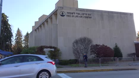 2018---memorial-to-victims-of-the-racist-hate-crime-mass-shooting-at-the-Tree-Of-Life-synagogue-in-Pittsburgh-Pennsylvania-5