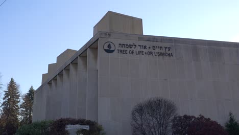 2018---memorial-to-victims-of-the-racist-hate-crime-mass-shooting-at-the-Tree-Of-Life-synagogue-in-Pittsburgh-Pennsylvania-6