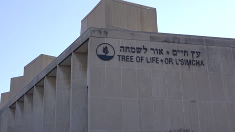 2018---memorial-to-victims-of-the-racist-hate-crime-mass-shooting-at-the-Tree-Of-Life-synagogue-in-Pittsburgh-Pennsylvania-7