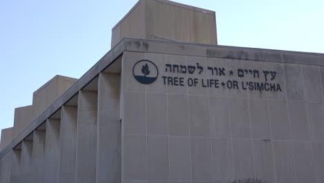 2018---Denkmal-Für-Die-Opfer-Der-Rassistischen-Hassverbrechen-Massenerschießung-Der-Baum-Des-Lebens-Synagoge-In-Pittsburgh-Pennsylvania-7