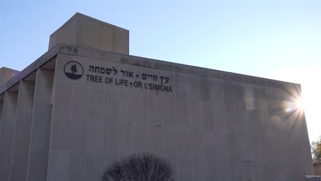 2018---memorial-to-victims-of-the-racist-hate-crime-mass-shooting-at-the-Tree-Of-Life-synagogue-in-Pittsburgh-Pennsylvania-8