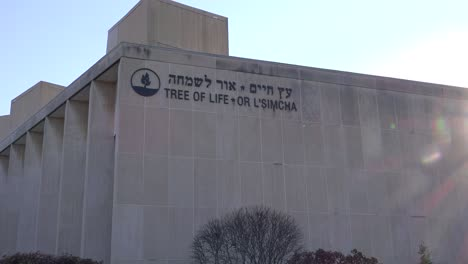 2018---memorial-to-victims-of-the-racist-hate-crime-mass-shooting-at-the-Tree-Of-Life-synagogue-in-Pittsburgh-Pennsylvania-9