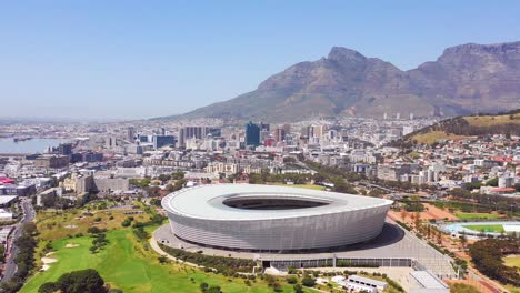 Good-aerial-establishing-shot-of-the-city-of-Cape-Town-South-Africa-with-Capetown-stadium-in-distance-3