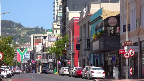 Establishing-shot-of-the-downtown-area-of-Cape-Town-South-Africa-with-colonial-buildings-and-traffic-1