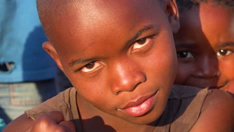 Beautiful-African-faces-of-children-in-the-Gugulethu-township-of-South-Africa