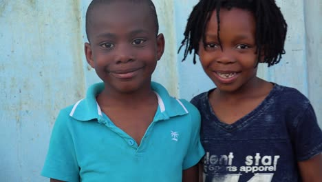 Beautiful-African-faces-of-children-in-the-Gugulethu-township-of-South-Africa-1