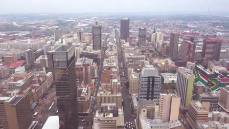 Good-high-angle-establishing-shot-of-Johannesburg-South-Africa-downtown-business-district-3