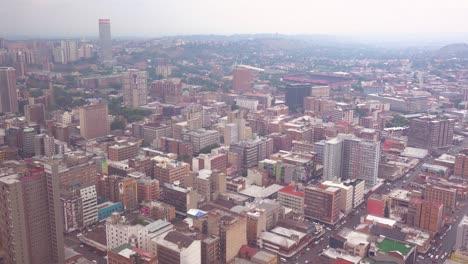 Good-high-angle-establishing-shot-of-Johannesburg-South-Africa-downtown-business-district-5