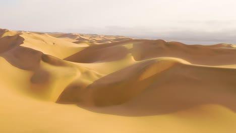 Astonishing-aerial-shot-over-the-vast-sand-dunes-of-the-Namib-Desert-along-the-Skeleton-Coast-of-Namibia