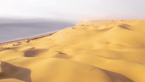 Astonishing-aerial-shot-over-the-vast-sand-dunes-of-the-Namib-Desert-along-the-Skeleton-Coast-of-Namibia-5