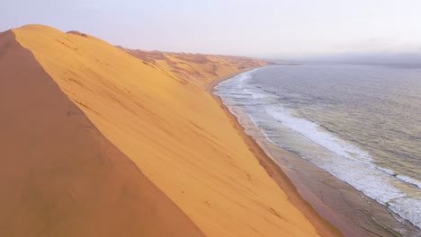Astonishing-aerial-shot-over-the-vast-sand-dunes-of-the-Namib-Desert-along-the-Skeleton-Coast-of-Namibia-7
