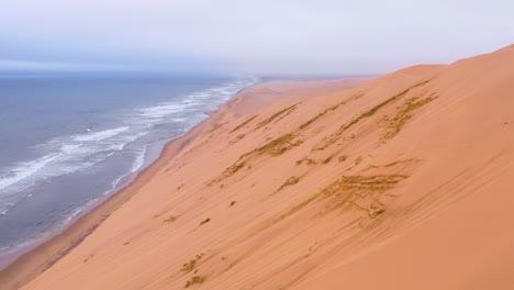 Astonishing-aerial-shot-over-the-vast-sand-dunes-of-the-Namib-Desert-along-the-Skeleton-Coast-of-Namibia-9