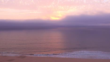 Moody-sunset-in-the-fog-along-the-Skeleton-Coast-Namibia