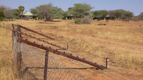 Electric-fences-separate-the-tourists-and-lodges-from-the-wildlife-on-safari-in-Erindi-Namibia-1