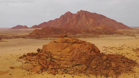 Aerial-over-the-Namib-Desert-and-the-massive-rock-formations-at-Spitzkoppe-Namibia-2