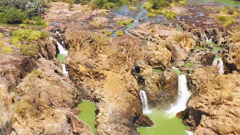 A-beautiful-aerial-over-Epupa-Falls-on-the-border-of-Angola-and-Namibia-Africa-1