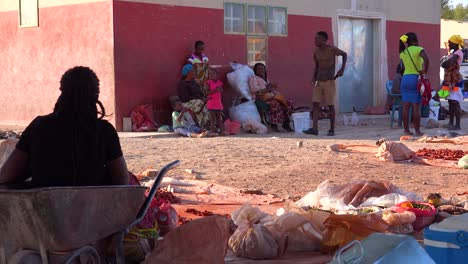 Poor-African-citizens-shop-in-a-basic-Africa-street-market-in-Opuwo-Namibia