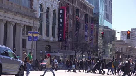 Establishing-shot-of-Berklee-Music-School-in-Boston-Massachusetts
