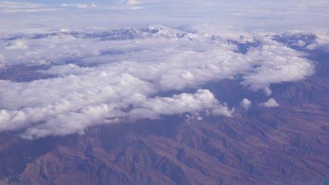 Aerial-over-snow-capped-mountains-near-Teheran-Iran