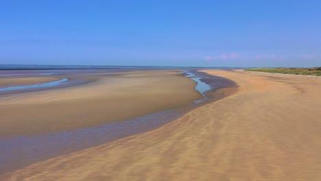 Gute-Antenne-über-Utah-Beach-Normandie-Frankreich-Standort-Des-Zweiten-Weltkriegs-D-day-Alliierte-Invasion