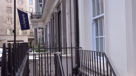 Exterior-establishing-shot-of-Sotheby-s-auction-house-in-London-England-2