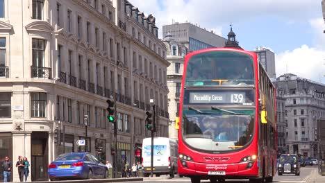 Good-establishing-shot-of-Regent-Street-in-the-Soho-district-of-London-England