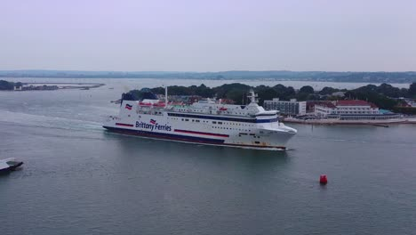 Aerial-over-a-Brittany-Ferry-boat-sailing-across-the-English-Channel-from-England-to-France-1