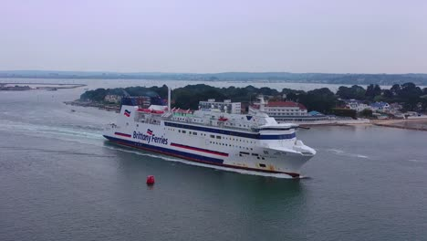 Aerial-over-a-Brittany-Ferry-boat-sailing-across-the-English-Channel-from-England-to-France-2
