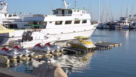 2019---The-Vision-a-boat-similar-to-the-Conception-dive-boat-owned-by-Truth-Aquatics-sit-in-Santa-Barbara-harbor-following-the-tragic-dive-boat-fire-near-the-Channel-islands-1