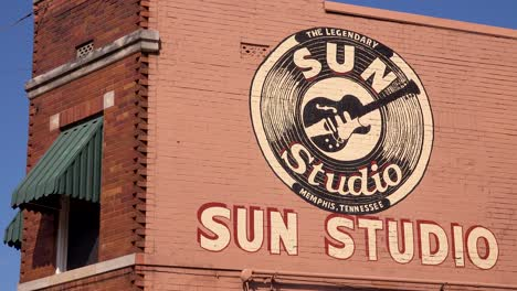 Memphis-landmark-Sun-Recording-music-studio-building-where-Elvis-Presley-started-along-with-many-famous-musicians