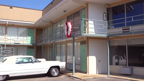 Exterior-of-the-Lorraine-Motel-where-Martin-Luther-King-was-assassinated-on-April-4-1968-now-the-National-Civil-Rights-Museum-in-Memphis-Tennessee