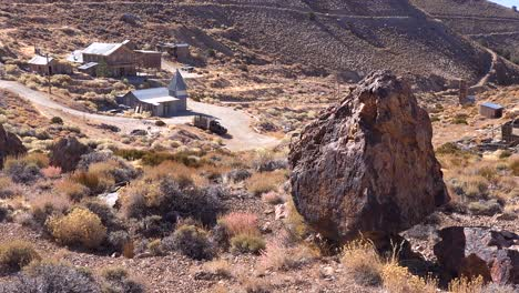 2019---establishing-of-Cerro-Gordo-ghost-town-in-the-mountains-above-the-Owens-Valley-and-Line-Pine-California-2