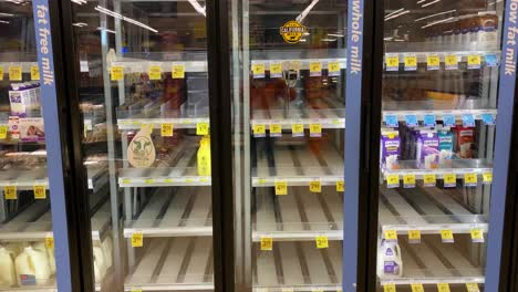 2020---supermarket-and-store-shelves-are-mostly-empty-during-the-Corona-virus-COVID-19-virus-outbreak-in-America