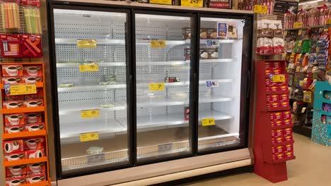 2020---Supermarkt--Und-Ladenregale-Sind-Während-Des-Ausbruchs-Des-Coronavirus-Covid-19-In-Amerika-Größtenteils-Leer-1