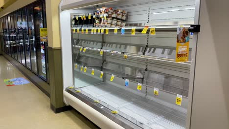 2020---supermarket-and-store-shelves-are-mostly-empty-during-the-Corona-virus-COVID-19-virus-outbreak-in-America-2