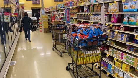 2020---supermarket-and-store-shelves-are-mostly-empty-during-the-Corona-virus-COVID-19-virus-outbreak-in-America-5