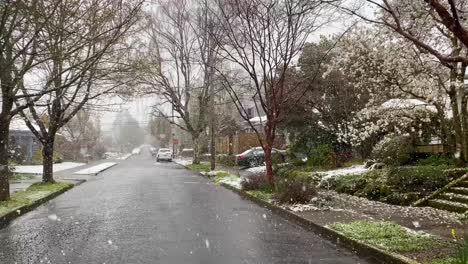 Heavy-winter-snow-falls-in-a-traditional-American-neighborhood-in-Portland-Oregon-2