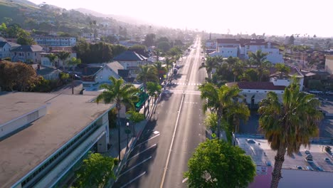 2020---aerial-of-the-streets-of-Ventura-California-mostly-empty-as-all-businesses-close-during-the-Coronavirus-Covid-19-epidemic-crisis-2