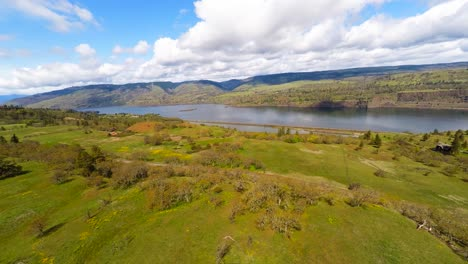 An-aerial-view-of-the-Columbia-River-in-the-Pacific-Northwest