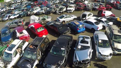 An-vista-aérea-shot-over-an-automobile-junkyard-1
