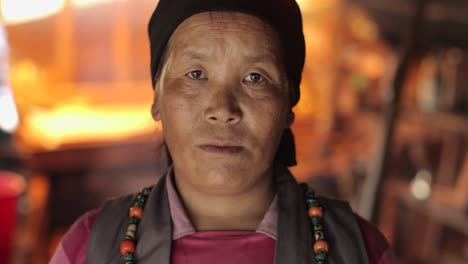 A-Nepalese-woman-looks-at-the-camera-after-becoming-homeless-during-the-devastating-earthquake-there