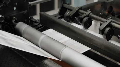 Tomorrow-s-newspapers-are-printed-on-a-high-speed-printing-press