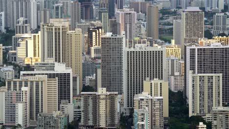 Hotels-and-buildings-in-Honolulu-Hawaii