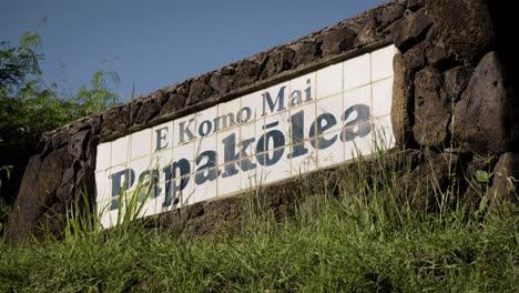 Un-Cartel-En-Un-Vecindario-Hawaiano-Insta-A-Las-Personas-A-Reducir-La-Velocidad-Y-Respetar-La-Seguridad-1