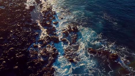 Nice-aerial-shot-over-Molokai-Hawaii-turquoise-waters-2