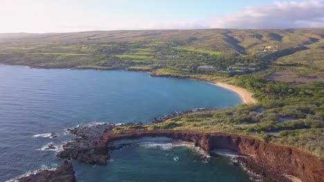 A-flyover-aerial-of-Manele-Point-on-the-Hawaii-island-of-Lanai-6