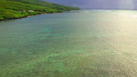 Aerial-over-Kahina-Pohaku-fish-pond-along-coast-of-Maui-Hawaii-1