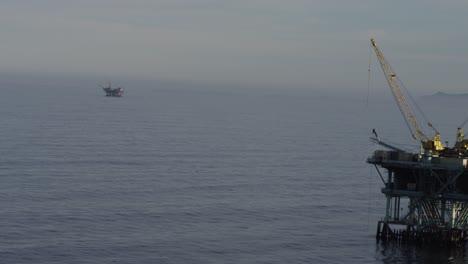 A-beautiful-aerial-shot-over-oil-derricks-and-platforms-in-the-Santa-Barbara-Channel-California-2